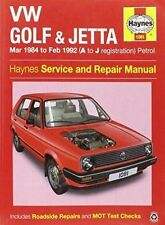 VW Golf & Jetta MK 2 Petrol 84-92 by Haynes Publishing Group (Paperback, 2014)
