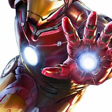 EL Iron Man Body Set = EL Panel Arc Reactor + Hand Repulsors To Add To Costume