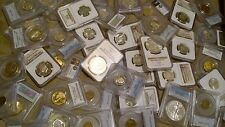 US Coin Collection PCGS / NGC, Silver, 100 YO, BU Coins GRAB BAG BUDGET LOT L00K