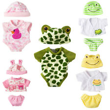 1 Suit Baby Born Doll Jumpsuit with Hat Zapf Doll 18 Inch Doll Clothes Gift*~*