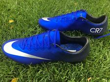 Nike Mercurial Vapor X CR7 FG 684860-404 Deep Royal Blue/Black Men Soccer Cleats