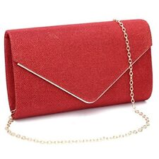 Red Purses For Wedding Christmas Bridal Prom Handbags Party Bags Elegant Gift