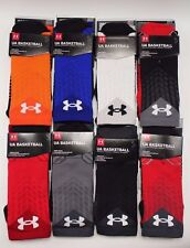 NEW 1 PR Under Armour Unisex Athletic Crew Socks Medium Large Basketball Sport