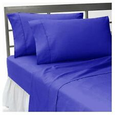 1000 THREAD COUNT EGYPTIAN BLUE EGYPTIAN COTTON UK BED SHEET SET/DUVET/FITTED