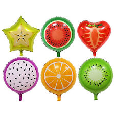 Fruits Foil Balloons Helium Ballons Birthday Decoration Party Supplies^~^