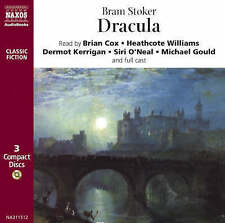 Dracula by Bram Stoker - Audio 3CD (Naxos) read by Brian Cox & full cast