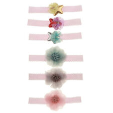 Kids Baby Headband Toddler Lace Star Flower Hair Band Accessories Headwear