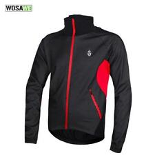 WOSAWE Fleece Thermal Winter Cycling Jacket Windproof Bike Bicycle Coat NEW