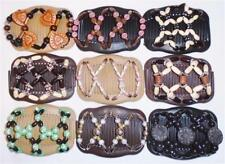 """Double Magic Hair Combs, Angel Wings Clips 4x3.5"""", African Butterfly,Quality S95"""