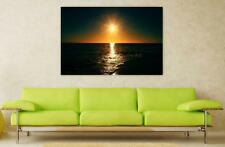 Canvas Poster Wall Art Print Decor Sunset Sunrise Dawn Dusk Horizon