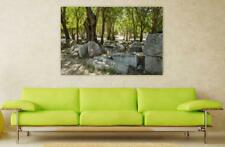 Canvas Poster Wall Art Print Decor Ancient Stones Greece