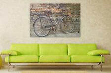 Canvas Poster Wall Art Print Decor Bicycle Old Vintage Vintage Bicycle