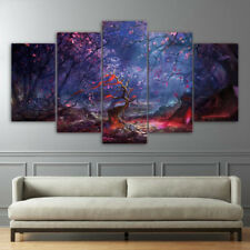Beautiful Landscape Paintings Poster Modern Picture Canvas Wall Art Home Decor