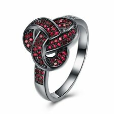 Well-matched Female Romantic Twisted Shaped Finger Ring Jewelry For Party BallSM
