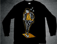 New Long Sleeve Gold Billie Jean air tshirt black dmp 6 11 jordan Cajmear S L XL