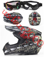 Off Road Dirt Bike Motocross Enduro Racing KTM ATV Motorcycle Helmet Matte Black