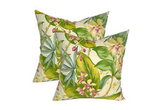 Indoor / Outdoor Tommy Bahama Fresco Tropical Floral Throw Pillows - Choose Size