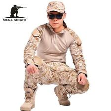 Camouflage tactical military clothing paintball army cargo pants combat trousers