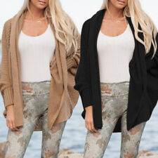 Women's Fashion Bat Long Sleeve Tippet Cardigan Sweater Cardigan Sweater Coat*~*