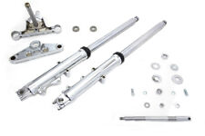 41mm Fork Assembly with Chrome Sliders Dual Disc,for Harley Davidson motorcyc...