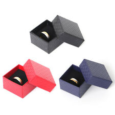 Paper Cardboard Jewelry Ring Necklace Earring Display Case Storage Box 1/5/10Pc