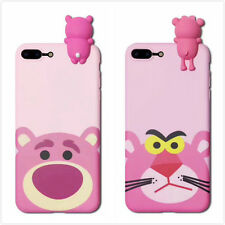 Pink Panther Lotso phone case Shell case Cover For iPhone 6/6S 7 plus Toy Gift