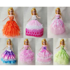Fashion Doll Dress Clothes Skirt Gown for Barbie Dolls Jenny Dolls Liv Doll