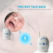 Wireless Infant Baby Monitor Portable Audio Walkie Talkie Phone Alarm Intercom