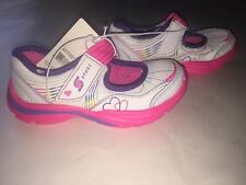 Toddler Girls Ssport Prism Athletic Shoes White/Pink/ Purple Size 8 NEW