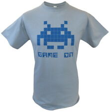 Retro Space Invaders Game On Mens Graphic Gamer T-Shirt T Shirt 100% Cotton