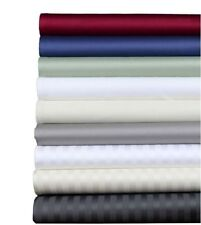 1000 TC BEST EGYPTIAN COTTON RV KING SIZE 4 PC SHEET SET ALL SOLID/STRIPE COLORS
