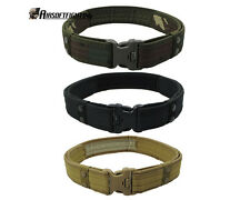 """3Color 2"""" Airsoft Tactical Military Police Load Bearing Combat Duty Belt"""