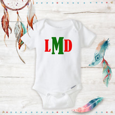 Christmas Red & Green Personalized Monogram Baby Boy Gifts Clothes Onesie Infant