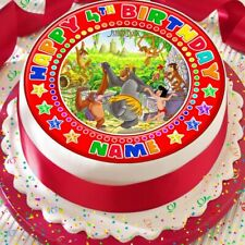 JUNGLE BOOK PERSONALISED RED CAKE TOPPER PRECUT DECORATION EDIBLE BIRTHDAY