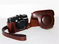 PU Leather Camera Bag Case Pouch for Canon Powershot  G12 G11 G10