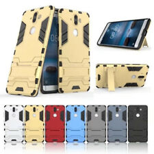 For Nokia 9 New Hybrid Shockproof Rugged Rubber Hard Phone Cover Armor Case Skin