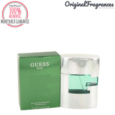 Guess Man Cologne 2.5 / 1.7 oz By GUESS FOR MEN 75 / 50 ML EDT SPRAY BRAND NEW