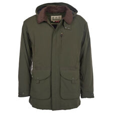 NEW mens L/XL barbour bransdale shooting Jacket forest green