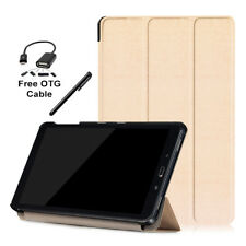 Ultra-Slim Flip Smart Back Cover Case for Samsung Galaxy Tab A10.1 P585 P580