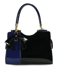 Handbag For Women Elegant Two Tone Blue/Black Shoulder Bag Women Christmas Gift