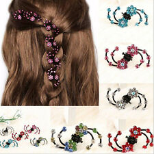 6Pcs Girl Crystal Snowflakes Hair Claws Clips HairPins Baby Hair·Accessory*~*