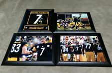 Pittsburgh Steelers Ben Roethlisberger Framed 8x10 Jersey Photo Miller Bell