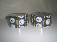 Brand New Pittsburgh Steelers NFL Duck Brand Duct Tape Lot