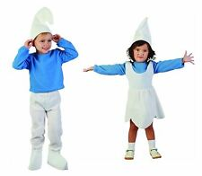 Boys Toodler ELF Smurf Gnome Costume Kids Girls Fancy Xmas Party Out Fit Dress