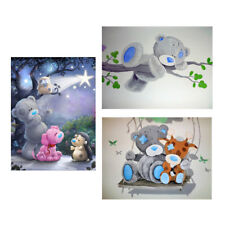 DIY 5D Diamond Embroidery Bear Painting Cross Stitch Crafts Home Wall Decor