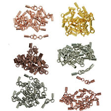 12pcs Retro Alloy Bell Spring Ring Clasps Connectors Jewelry Making Findings