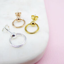 NEW Ball Hoop Earrings (various colours) Women's by Correy & Lyon