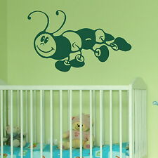 Cute Caterpillar Kids Wall Sticker / Decal Transfer / Mural Graphic Stencil X51