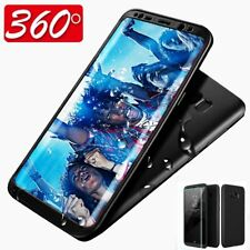 FOR SAMSUNG GALAXY S8 PLUS LUXURY TPU + PC CASE 360 FULL HYBRID ULTRA THIN COVER