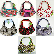 Vera Bradley Frill Tied Together Hobo Choice of Patterns New with Tags